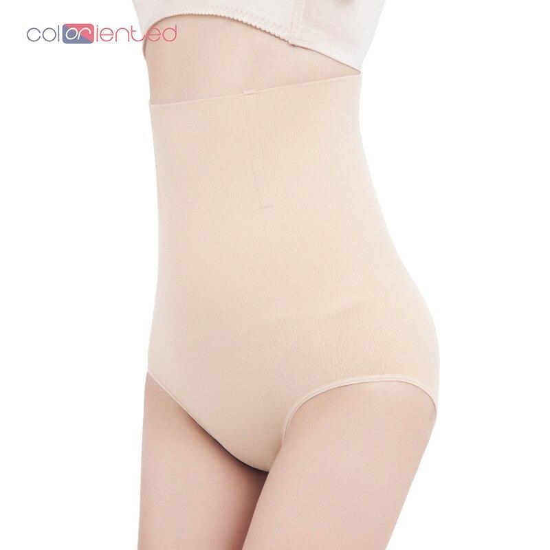 COLORIENTED frauen Control Shorts Nahtlose Sliming Höschen Hohe Taille Shaper Bauch Hosen Körper, der Hosen Hüfte Heben