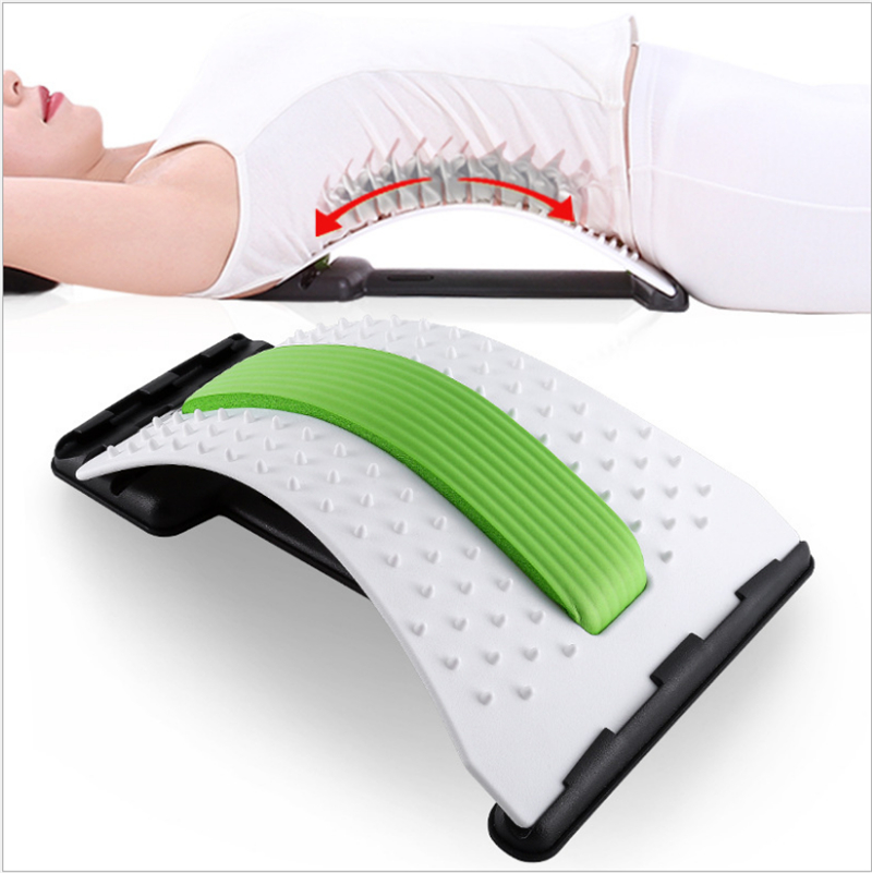 Back Massage Stretcher Stretching Magic Lumbar Support Waist Neck Relax Mate Device Spine Pain Relief Chiropractic Health Care hot selling back massage stretcher stretching magic lumbar support waist neck relax mate device spine