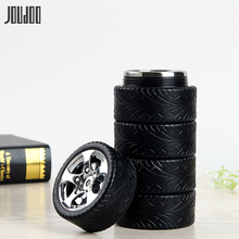 JOUDOO 320ML Creative Tire Mug 304 Stainless Steel Coffee Tea Cups Reusable Bottle 35