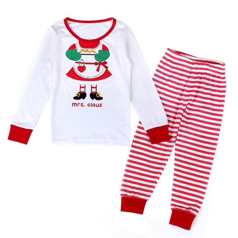 100% Cotton Christmas Pajamas Set Cartoon Boys Sleepwear Children s ... 58deca094