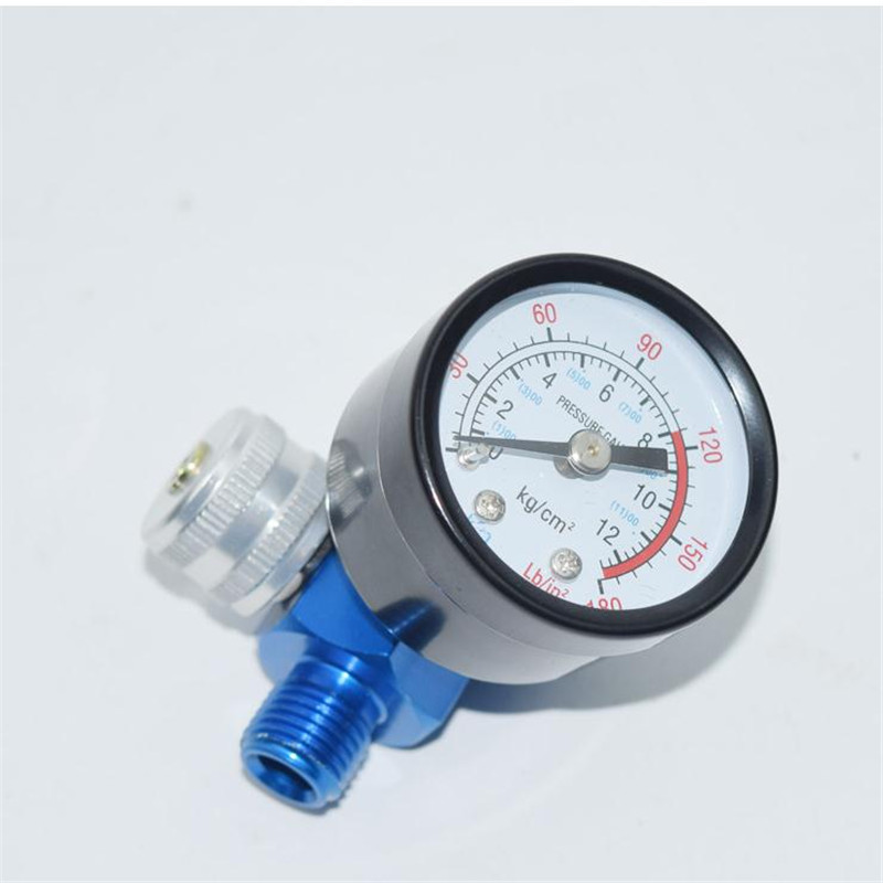 Medium and high grade paint spray guns Pressure Regulating valve tower pressure adjustment table wholesale in Valves Parts from Automobiles Motorcycles