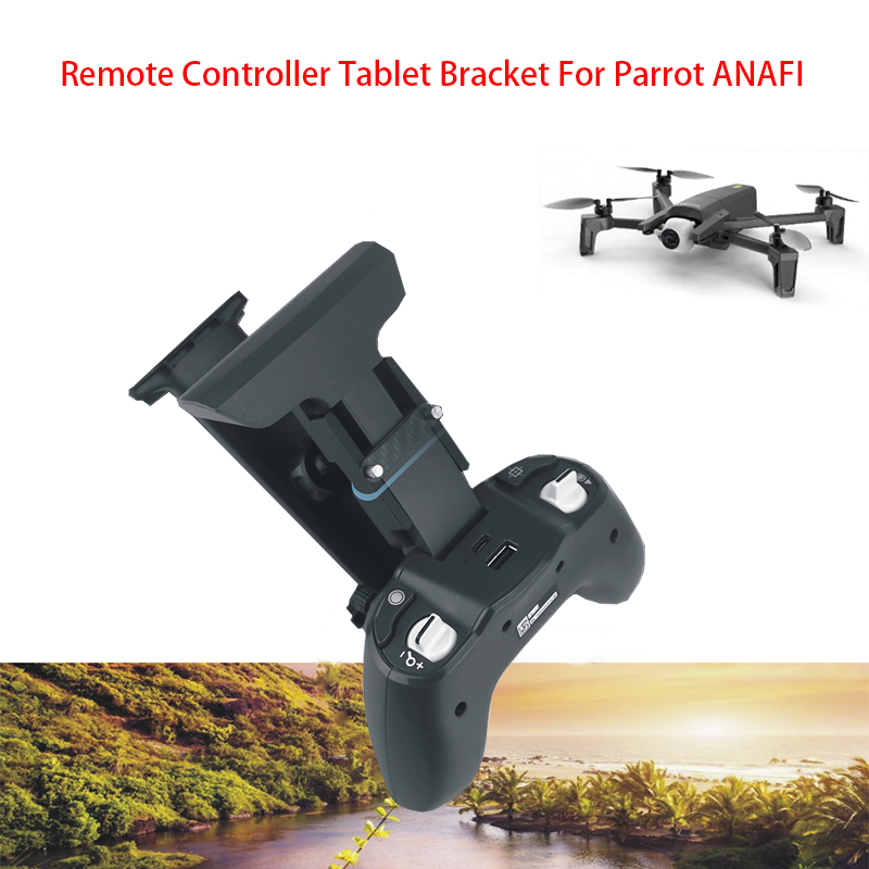 1 Set Extension Bracket Remote Control Phone Tablet Holder Aluminum Bracket For Parrot ANAFI  Drone Accessories