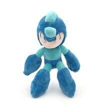 Stuffed Doll Plush-Toys Games Megaman Game-Rockman Electronic 24cm Blue-Color New