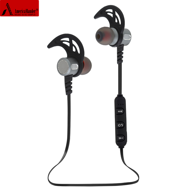 8692de4c2a9 AmericaMander BT35 4.1 Wireless Headphone Bluetooth Headset Headphones  Microphone Sport Earphone for iPhone Android Phone