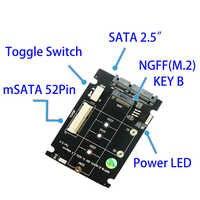 Мини PCIe pci-e PCI Express 2 lane SSD M 2 NGFF SSD на 1 8