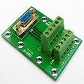 Женская секционная плата DB9  Клеммная колодка  соединитель  разъем  для соединения  для подключения