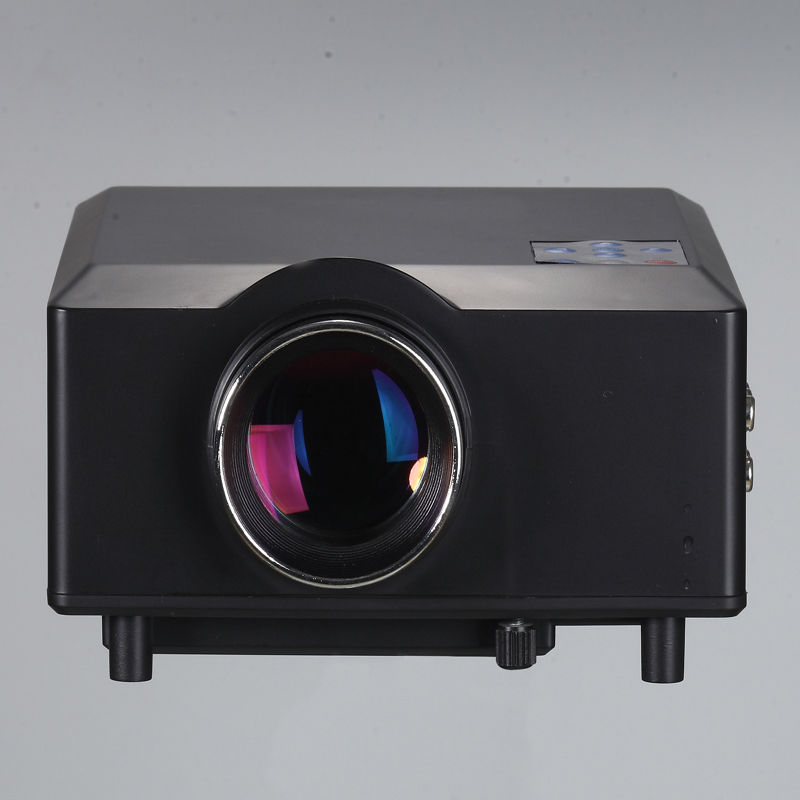 HD LED Projector 800*600 Home Theater Projector Kenitoo Factory Wholesale 3D Projector Sent HDMI CABLE Free Shiping
