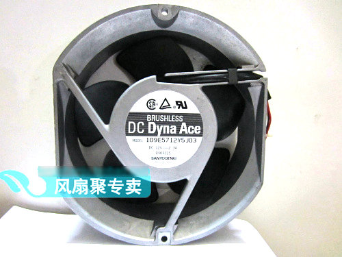 где купить Original SANYO 109E5712Y5J03 17cm 12V 2.3A  winds of the server cooling fan дешево