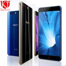 """ZTE Nubia Z17 mini S Telefon komórkowy Snapdragon 653 Octa Rdzeń 6G RAM 64G ROM 5.2 """"1080 P Dual Przednia Kamera Rzeczywistym NFC 4G telefon komórkowy"""