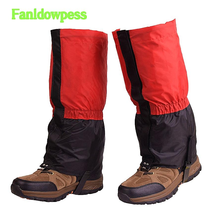 1 Paar Unisex Schnee Regen Stiefel Legging Gamaschen Wasserdichten Winddicht Bein Wärmer Gamasche Schuhe Abdeckung Überschuhe Für Mann Frauen