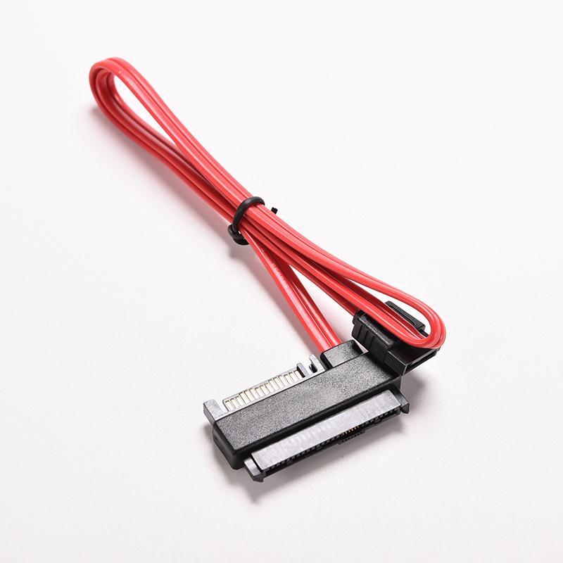 1PC 29 Pin SAS SFF-8482 To 7 Pin SATA Style SAS Ports HDD Data Cable + 15Pin Computer Cable / Connectors