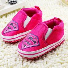Baby Shoes Cartoon Totem 2017 Superman Boy Girls Toddler Shoes Batman Infants Shoes Babies Sneakers