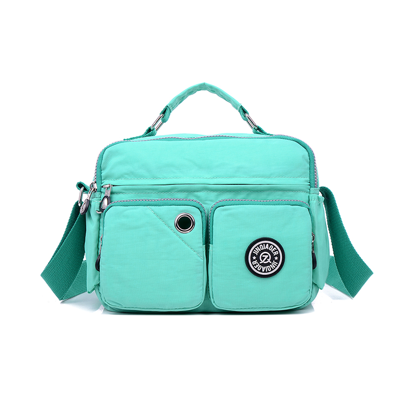 Fashion Waterproof Casual Women Nylon Messenger Bags Light Woman Nylon  Handbags Good Quality Shoulder Crossbody Bag ae6e39b5a85f9