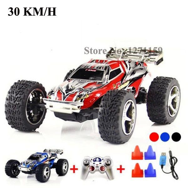 WL2019 high speed remote control car 30km / h variable ...