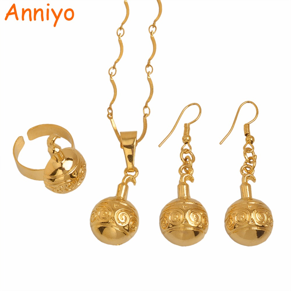Anniyo (Semicircle) Papua New Guinea Pendant Necklaces/Earrings/Ring for Women PNG Designs Jewelry Gifts #097706