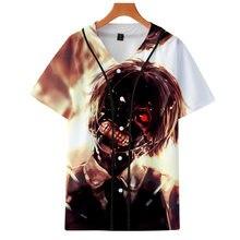 ef1af2eb Drop Shipping BTS 3D Print tokyo ghoul Harajuku T-shirts Men Clothes 2019  Short Sleeve Baseball Tees TShirt Plus Size 4XL