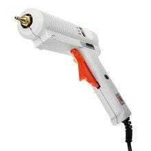 Pistola de cola quente plug ue aquecedor de alta temperatura 100w/120w ajustável temperatura constante quente melt pistola cola enxerto reparação para AY194-SZ