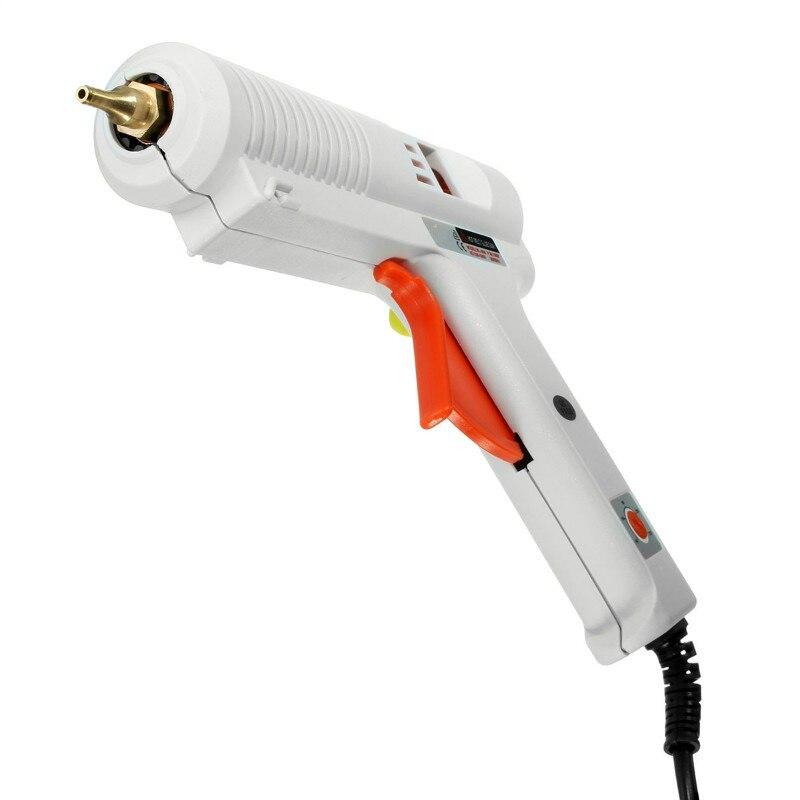 UE Plug Aquecedor de Alta Temperatura Pistola de Cola quente 100 W/120 W ajustável temperatura constante hot melt pistola de cola enxerto de Reparo para AY194-SZ