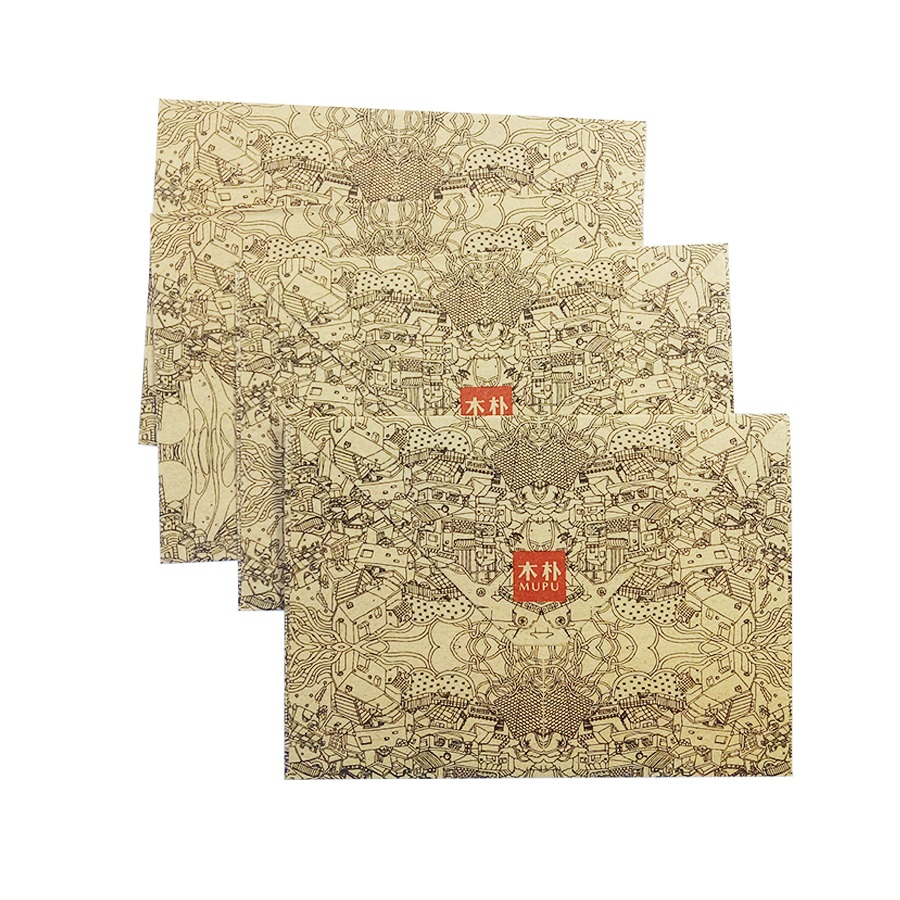 5 Pcs/lot Cute Vintage  Kraft Envelope Postcards DIY Envelopes Fancy Envelopes Kawaii Gift Party Supplies 155*111mm