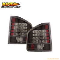 For 1994 2001 Chevy S10 GMC Sonoma LED Tail Lights Black USA Domestic Free Shipping
