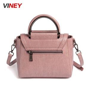 Image 3 - Viney Bag Girl 2019 New Genuine Leather Bag Handbag