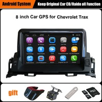Upgraded Original Android 8 inch Car multimedia Player Suit to Chevrolet Trax Car GPS Navigation WiFi Bluetooth 16G Ram