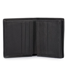 Cow Leather Men Short Wallet Casual Genuine Male Purse Standa mens bags Business 201