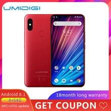 "UMIDIGI F1 Play 48MP+8MP+16MP 5150mAh Mobile phone Android 9.0 6GB RAM 64GB ROM 6.3"" FHD Global Version Smartphone Dual 4G"