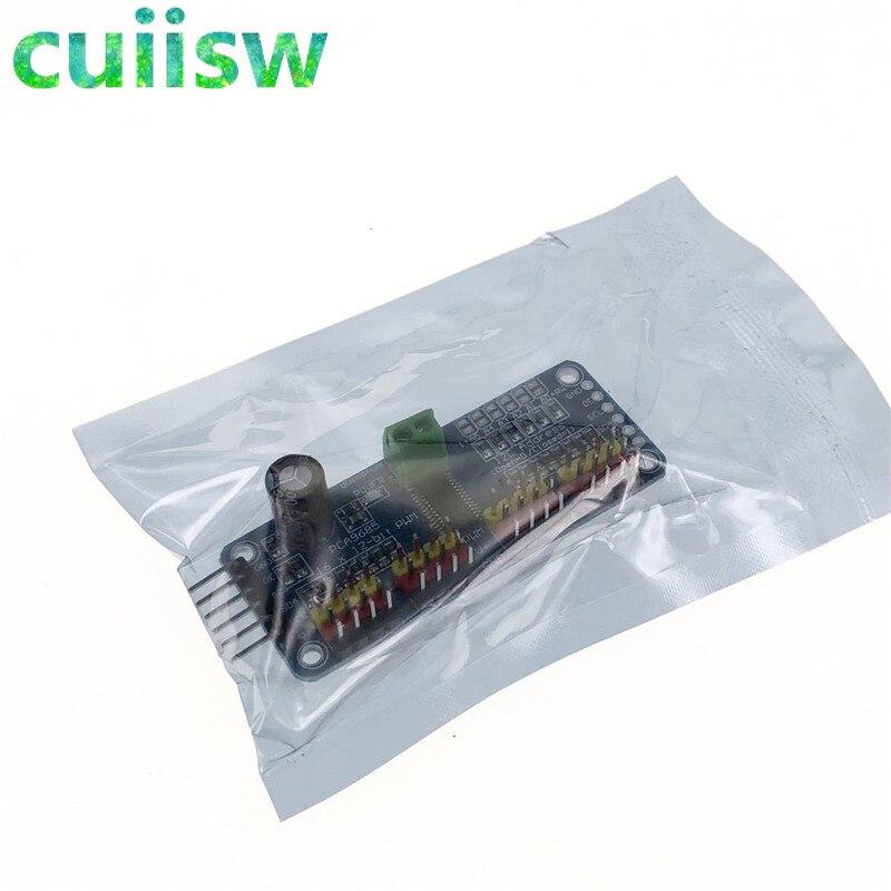 16 Channel 12 bit PWM/Servo Driver I2C interface PCA9685