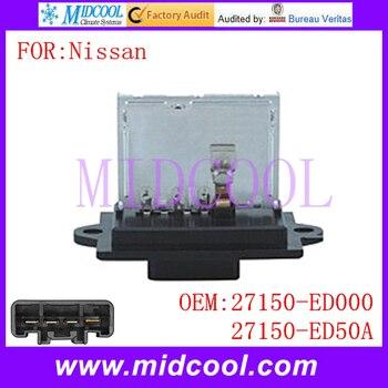 New Blower Motor Resistor uso OE NO. 27150-ED000, 27150-ED50A per Nissan Versa Cube