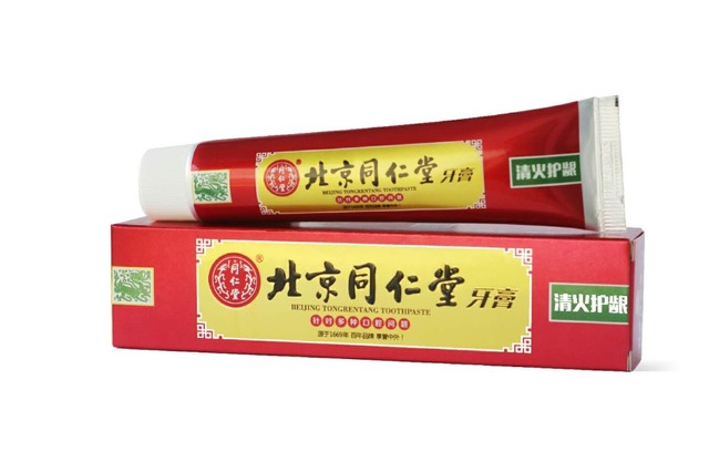 2016 Tongrentang Traditional Herbal Toothpaste Dendrobium Candidum Relieve Inflammation And Internal Heat