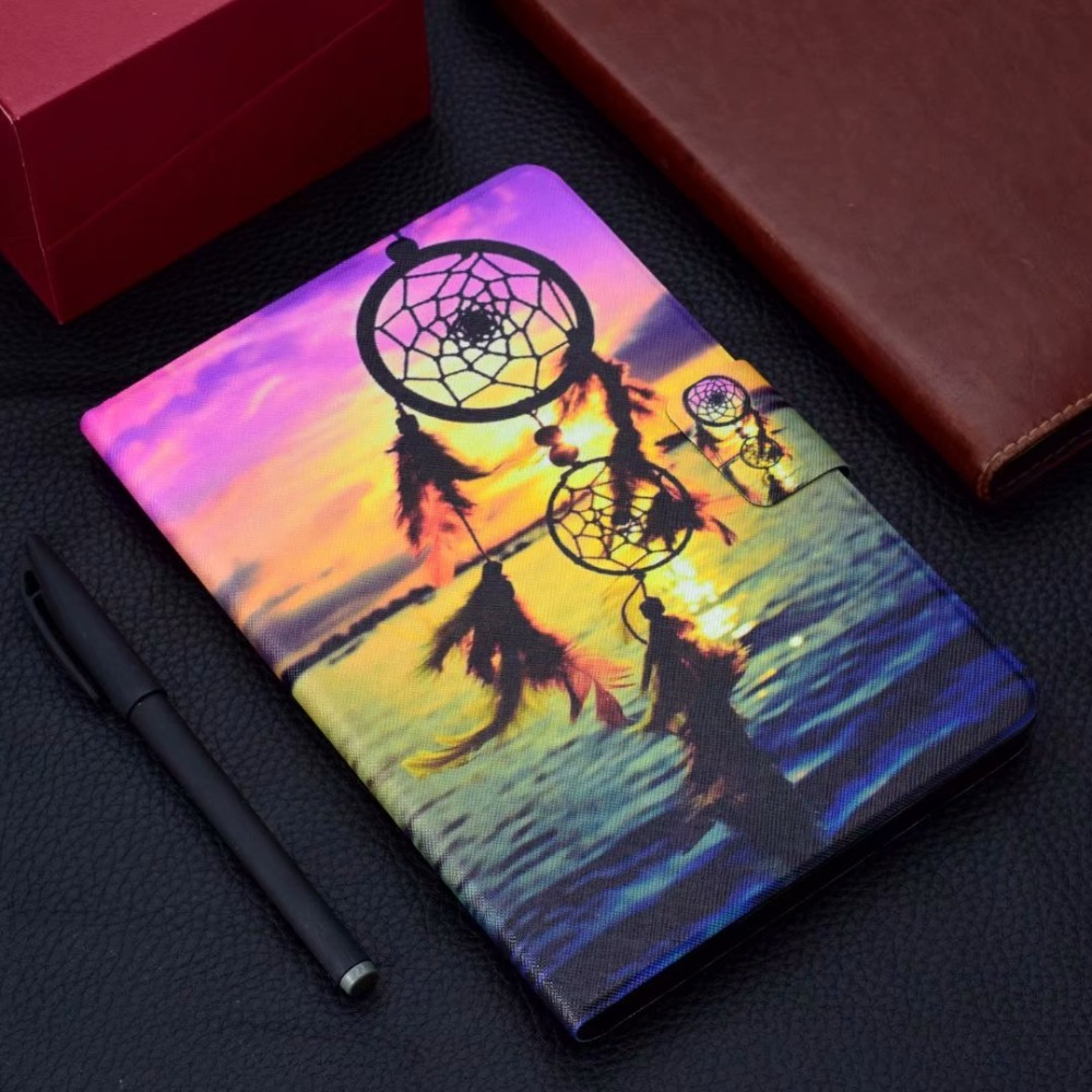 for Huawei MediaPad T3 7 0 Wifi BG2-W09 Smart Cover Stand Funda Tablet for  Honor Play Pad 2 7 0 F