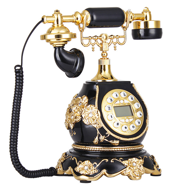 The Story Of European Fashion Square Antique Telephone Telephone