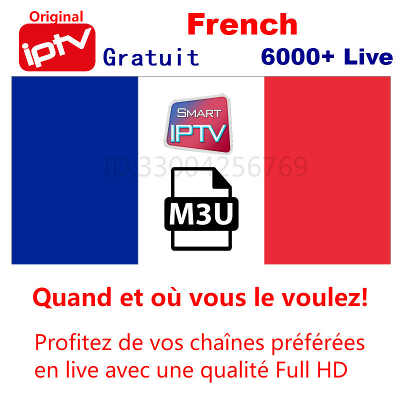 IPTV Gratuit français IPTV arabe IPTV néerlandais IPTV Android m3u Smart iptv smarters iptv abonnement serveur premium
