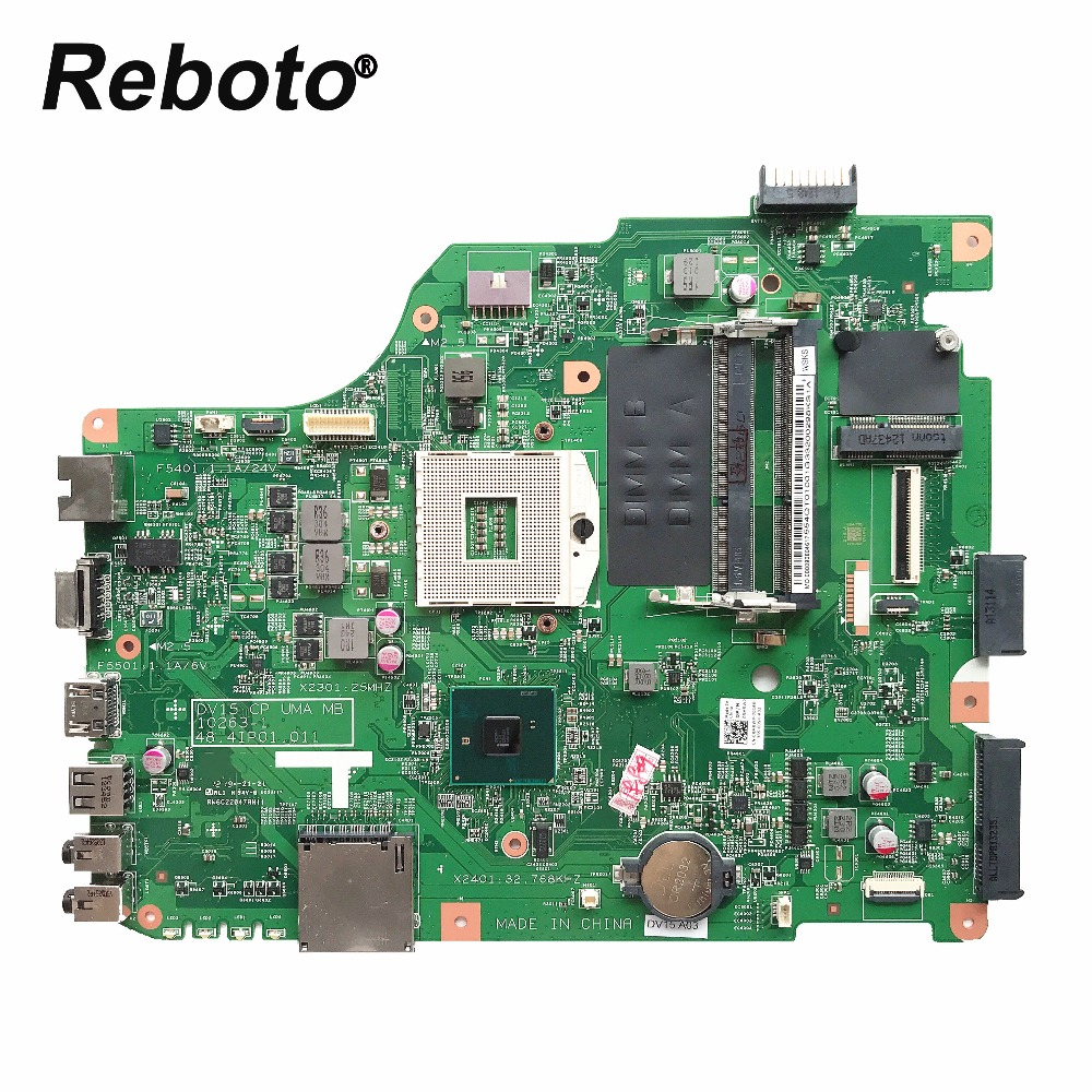 Reboto High quality For DELL N5040 1540 Laptop Motherboard HM57 DV15 10263 1 48 4IP01 011