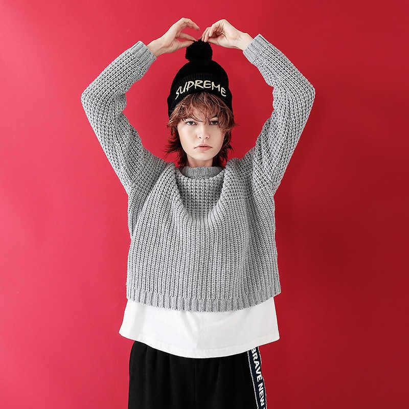 Toyouth Winter Frauen Pullover und Pullover Koreanischen Stil Langarm Casual Troict Pullover Solide Strick Jumper Sweter Mujer