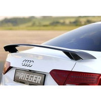 A4 Modified R Style Carbon Fiber Rear Trunk Spoiler Car Wing For Audi A4 S4 Universal