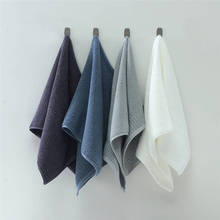 Cotton Polyester Face Towel Solid Square Soft Quick Drying Absorbent Bathroom Bath Hair Hand Towels Washcloths For Spa