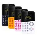 Новый Mini Card Телефон AIEK/M8 Low Radiation AEKU Bluetooth Сообщение цветной Экран Детская Карман Сотовые Телефоны PK AIEK M5 E1 C6