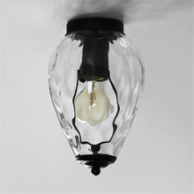 Nordic Ceiling Light Living Room Lights Iron Study  Led Ceiling Flush Lighting Loft Decor Dining Room Flush Mount Ceiling Light цена