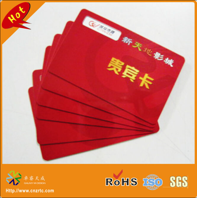 Glorious 200pcs/lot Both Side Printing Glossy Surface Effect Plastic Pvc Name Card,vip Name Card,plastic Name Card