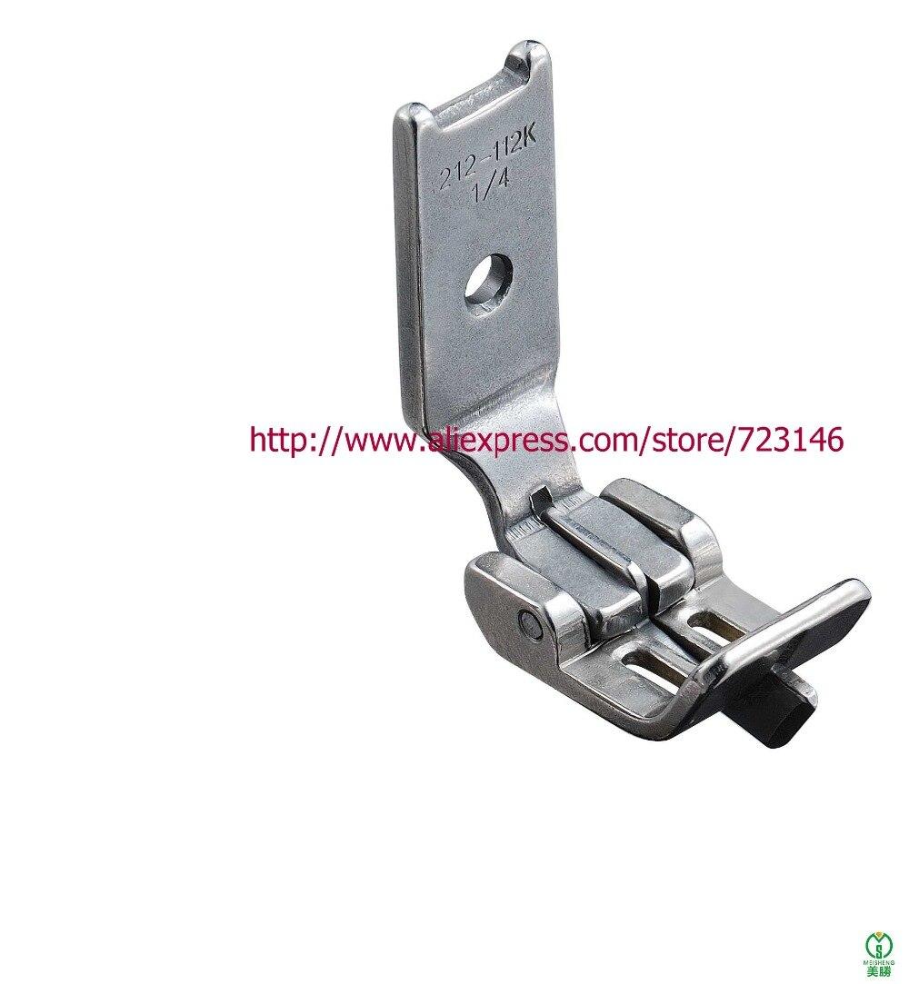 INDUSTRIELLE machine à coudre zip foot droit s/'adapte beaucoup de frère//Chanteur//JUKI et Plus
