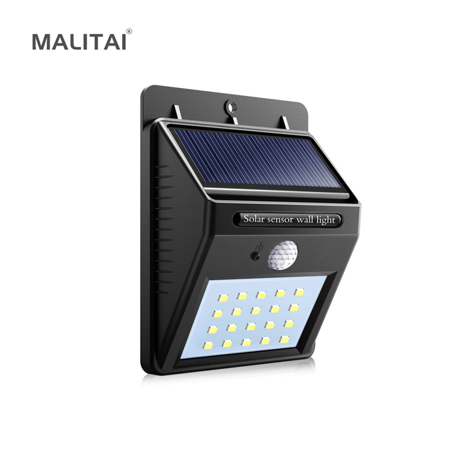solar powered led wall light with pir motion sensor cds nightsolar powered led wall light with pir motion sensor cds night sensor lamp outdoor garden