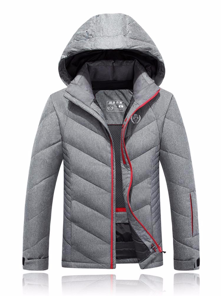 d41ac33c8 US $96.65 |Hot Stylish Winter Ultra Light White Duck Down Jacket Men New  Brand Slim Fit Mens Jackets And Coats Parka Hooded 205wy-in Down Jackets  from ...