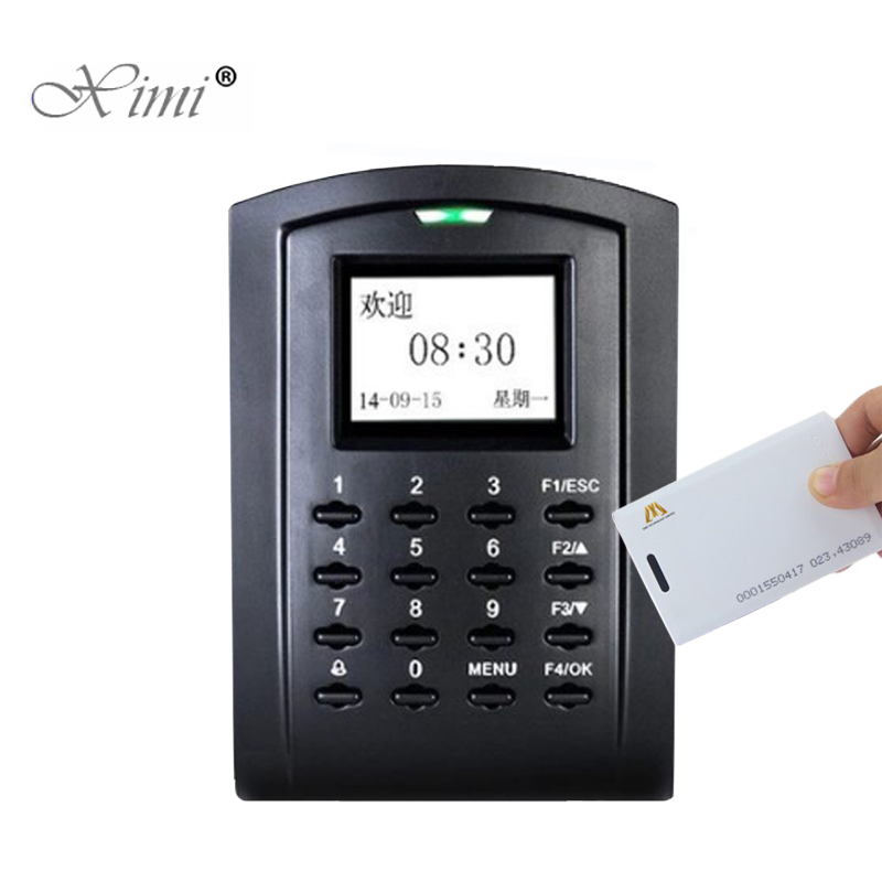 ZK SC103 125KHZ RFID Card Door Access Control System TCP/IP USB Standalone Card Time Attendance And Access Controller linux system tcp ip smart card access control system door access controller access control panel with time attendance function