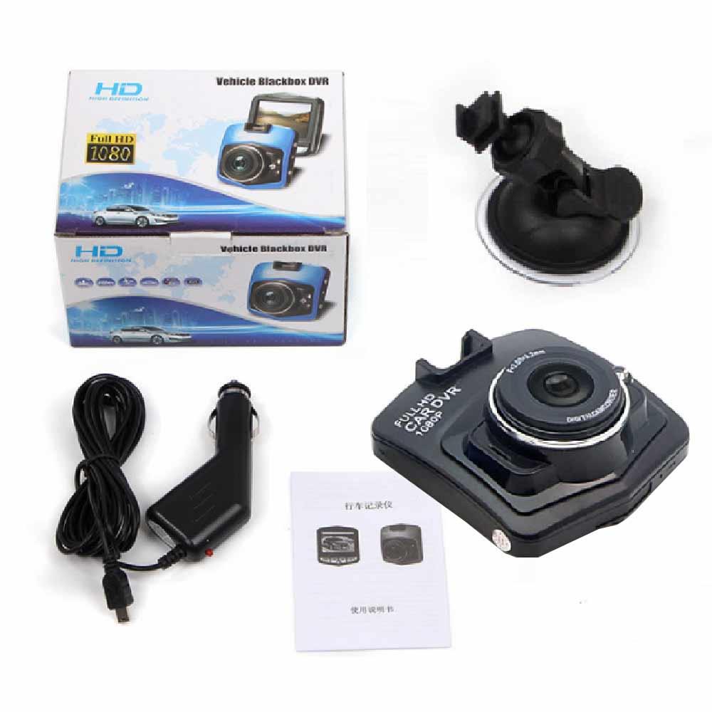 2017 Chaude Mini Voiture Dvr Caméra Dash Cam Enregistreur Vidéo registraire de Nuit Vision Boîte Noire Carcam G-sensor Dash Cam Livraison gratuite