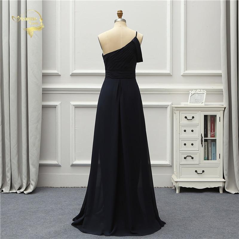 Jeanne Love Formal Luxury Evening Dress New Arrival Black One Shoulder Party Robe De Soiree Vestido De Festa OL5221 Prom Gowns 3