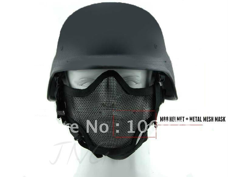 Protection Steel Mesh Face Mask M88 Airsoft Paintball Bb