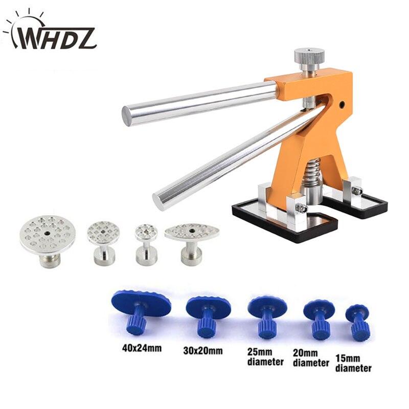 WHDZ PDR Tool Kit Glue Puller Hand Lifter 9pcs Tab Glue Puller Tab Print Tabs - Dent Repair Tool