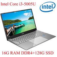 עם התאורה האחורית ips P3-07 16G RAM 128g SSD I3-5005U מחברת מחשב נייד Ultrabook עם התאורה האחורית IPS WIN10 מקלדת ושפת OS זמינה עבור לבחור (1)